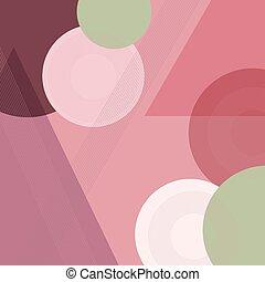 geometrico, fondo, astratto