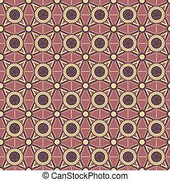 geometrico, fondo, ornamenti