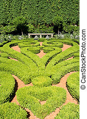 geometrico, giardino