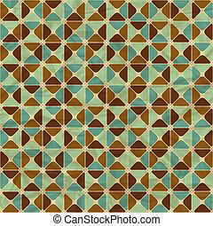geometrico, pattern., seamless, retro