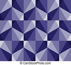 geometrico, seamless, sfaccettature