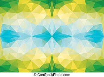 geometrico, seamless, vettore, modello