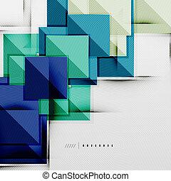 geometrico, squadre, futuristico, sagoma, rombo