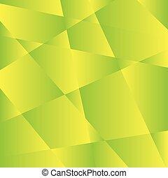 geometrico, verde, struttura, fondo