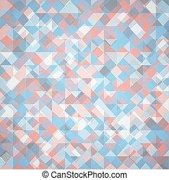 geometrico, vettore, fondo