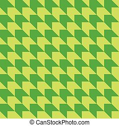 geometrico, vettore, sfondo verde