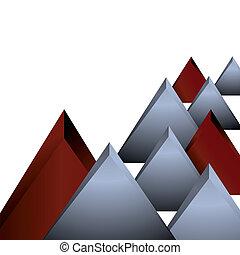 geometrisch, abstrac, achtergrond