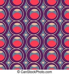 geometrisch, bunte, seamless, muster