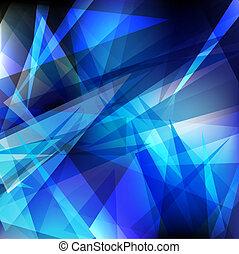 geometrisch, glanzend