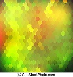geometrisch, glanzend, kleurrijke, achtergrond
