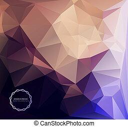 geometrisch, hintergrund