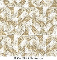 geometrisch, image., diepte, texture., model, abstract,...