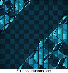 geometrisch ontwerp, abstrac, achtergrond