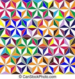 geometrisch, ornament, seamless