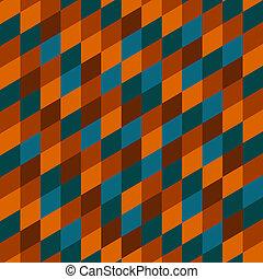 geometrisch, pattern., seamless, abstract, ethnische