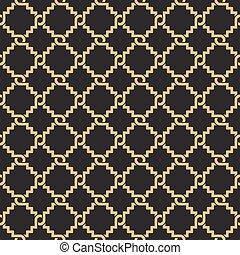 geometrisch, pattern., seamless, verflechtung