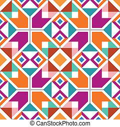 geometrisch, seamless, muster