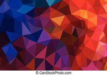 geometrisch, vector, achtergrond