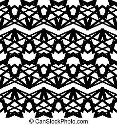 geometrisch, vector, pattern., seamless, illustration.