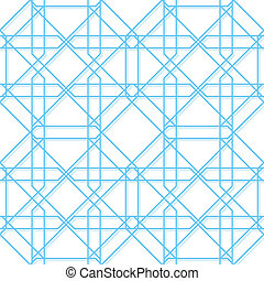 geometrisk, vektor, seamless, struktur