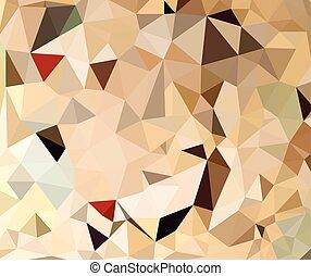 geometriske, farverig, abstrakt, baggrund.