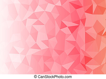 Geometrix red abstract rectangle background.