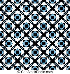 Geometry cute seamless pattern