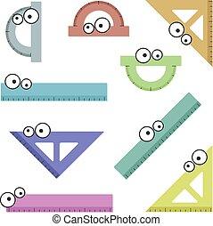 Geometry equipment set