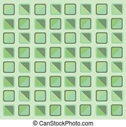 geometry green pastel background
