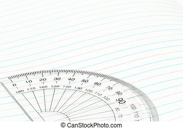 Geometry ruler