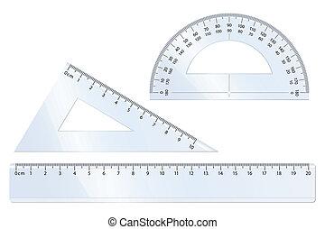 Geometry Set - Geometry vector set for mathematics