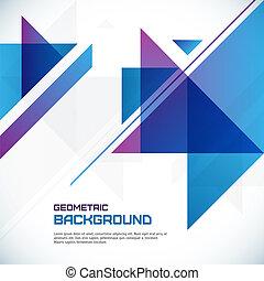 geometryczny, abstrakcyjny, tło
