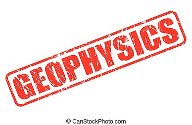 GEOPHYSICS red stamp text