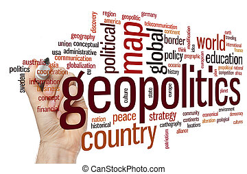 geopolitics, 単語, 雲