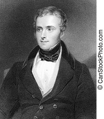 George Alexander Hamilton (1802-1871) on engraving from...