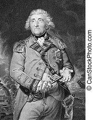 George Augustus Eliott, 1st Baron Heathfield, KB (1717-1790...