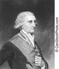 George Brydges Rodney, 1st Baron Rodney (1719-1792) on...