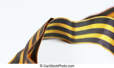 George memorial ribbon - Rotating on white background St....