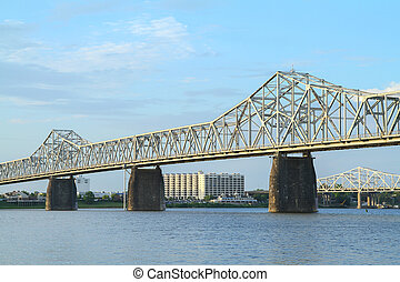Second Street Bridge - George Rogers Clark Memorial Bridge...