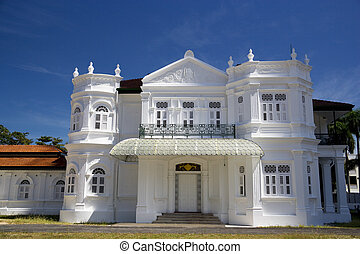 George Town Heritage Building - An old residential building...
