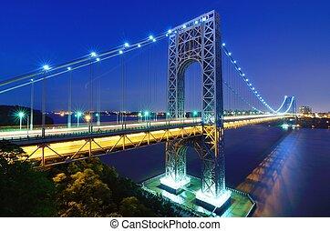 George Washington Bridge in New York - The George Washington...
