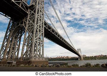 George Washington bridge span