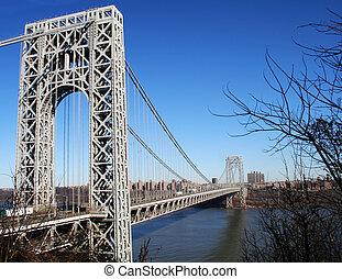 George Washington Bridge - The George Washington Bridge...