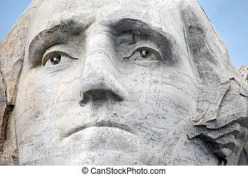 George Washington - Mount Rushmore Sculpture. George...