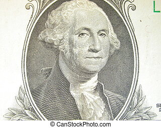 George Washington - the portrait of George Washington...