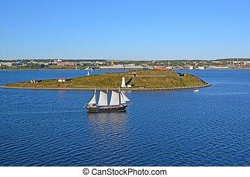 Georges Island Tallship