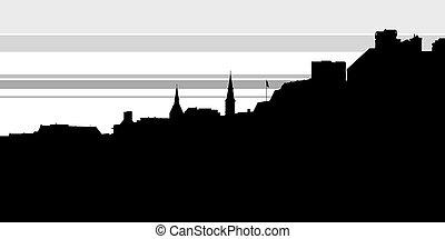 Georgetown Skyline