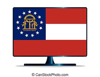Georgia Flag TV