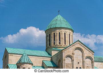 georgia, kutaisi, ortodoxo, ciudad, (xi, catedral, century...