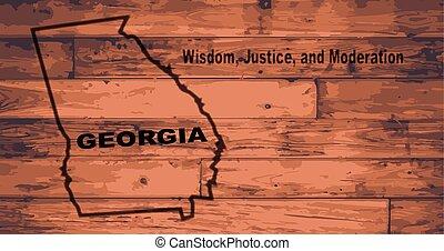 Georgia Map Brand